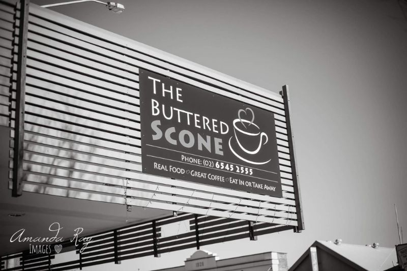 Welcome To The Buttered Scone Cafe